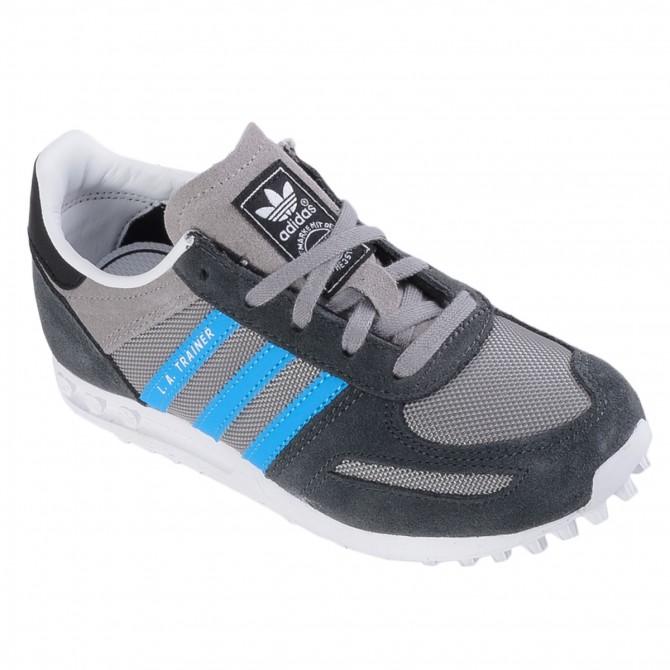 Scarpa Adidas La Trainer Junior grigio
