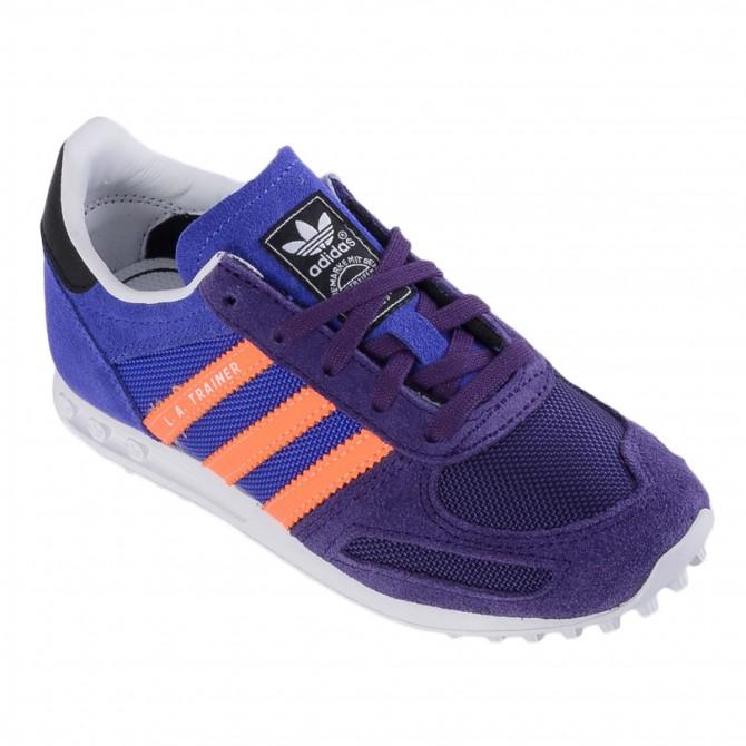 Scarpa Adidas La Trainer Girl viola