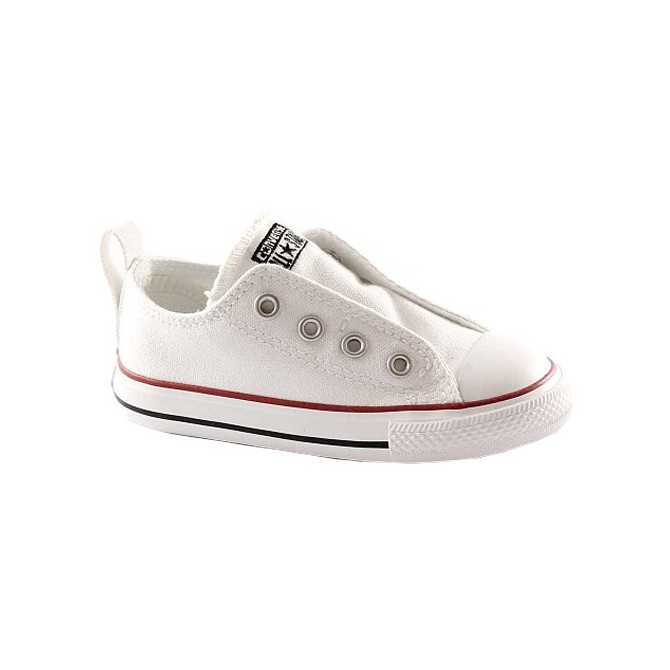 Scarpa bassa Converse Ct As Ox Canvas bianco Baby