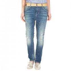 Jeans Manila Grace Astrid con cinturón mujer