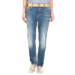 Jeans Manila Grace Astrid with belt woman