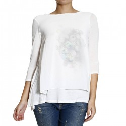 T-shirt Manila Grace con stampa Donna