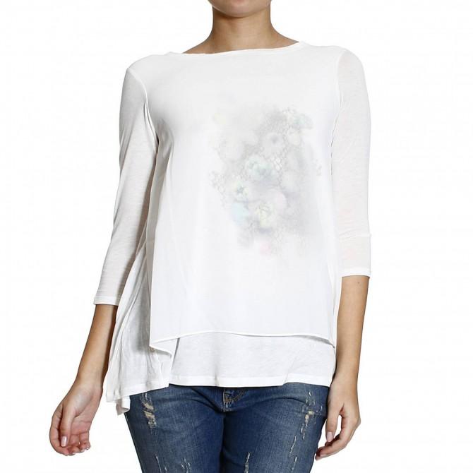 T-shirt Manila Grace con stampa Donna