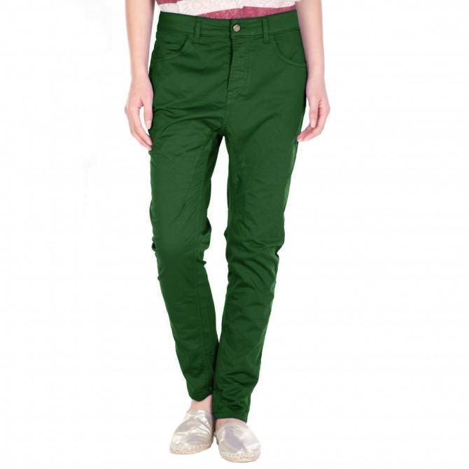 Pantalone Manila Grace Ambrogia Drill Donna