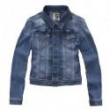 denim jacket Imperfect IW15S04KJ woman