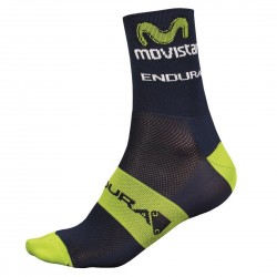 calcetines ciclismo Endura Movistar