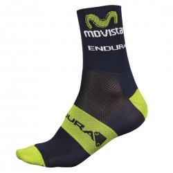 chaussettes cyclisme Endura Movistar