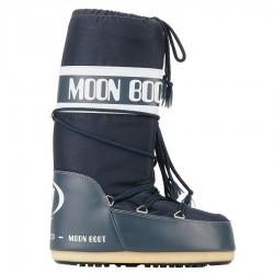 Après-ski Moon Boot Nylon Unisex blue jeans