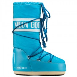 Après-ski Moon Boot Nylon Woman turquoise
