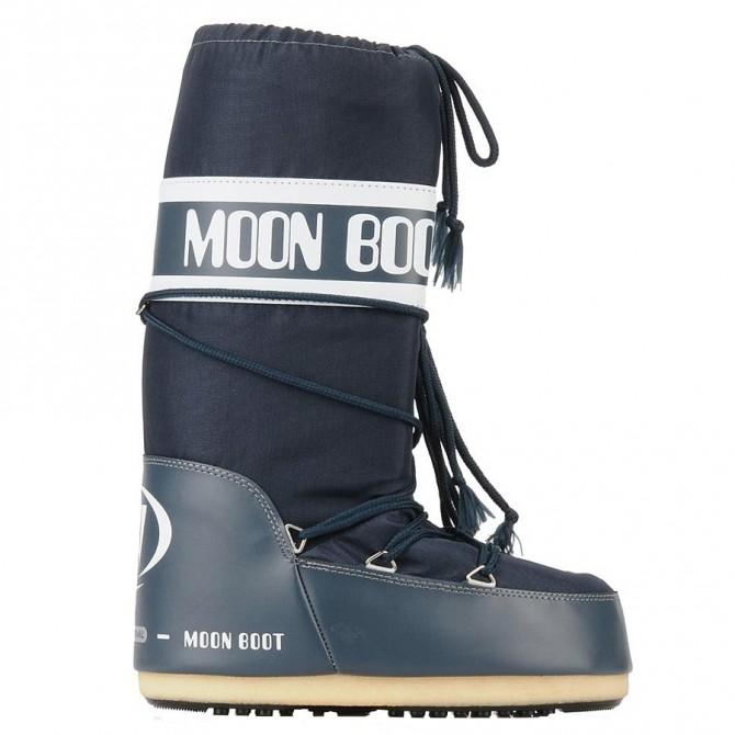 doposci Moon Boot Nylon blu jeans Uomo