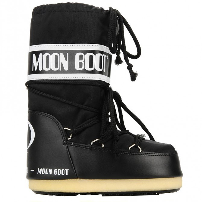 doposci Moon Boot Nylon nero Uomo