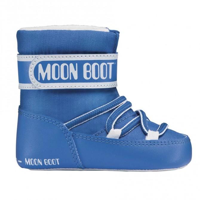Doposci Moon Boot Crib Baby blu MOON BOOT Doposci bambino