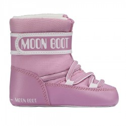 après ski Moon Boot Crib rose Baby