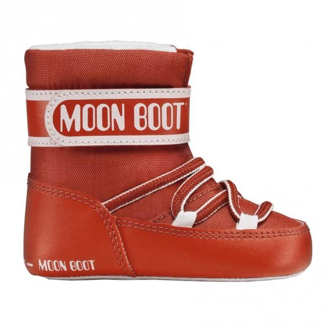 Doposci Moon Boot Crib Baby rosso MOON BOOT Doposci bambino