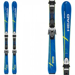 ski Head Integrale 600 Pr + fixations Pr 11 Br 78