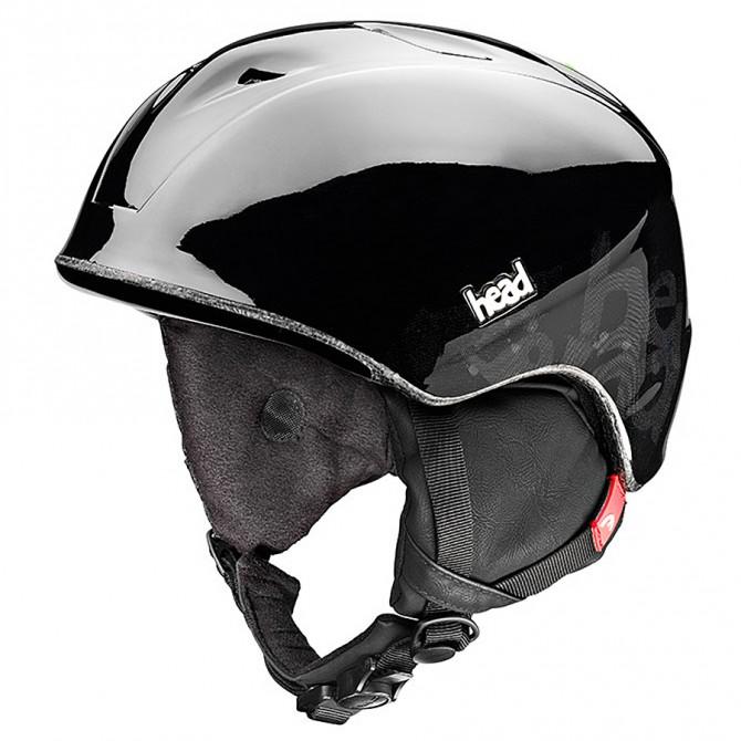 casco sci Head Rebel nero-grigio