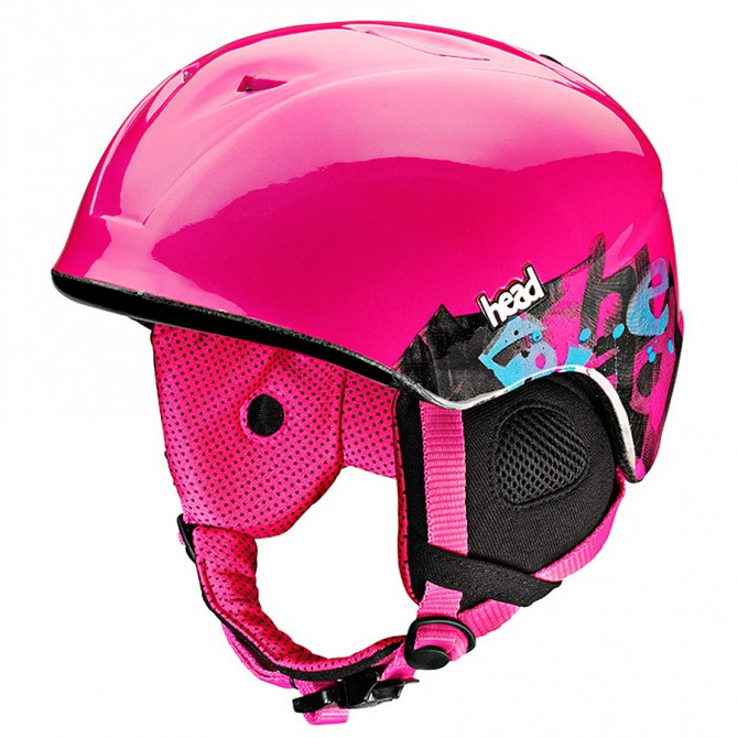 casco sci Head Cloe rosa
