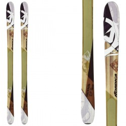 ski Nordica Istas + plaque Quicklook + fixations Goode V212