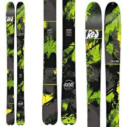 ski K2 Annex 108 + fixations V614