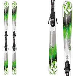 ski K2 Amp 76 + fixations 10.0 Fastrak III