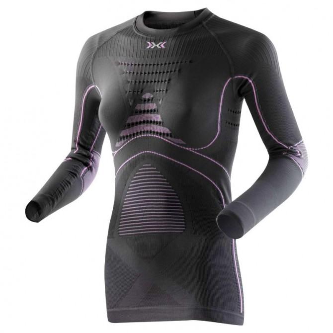 maglia intima X-Bionic Energy Accumulator Evo girocollo Donna