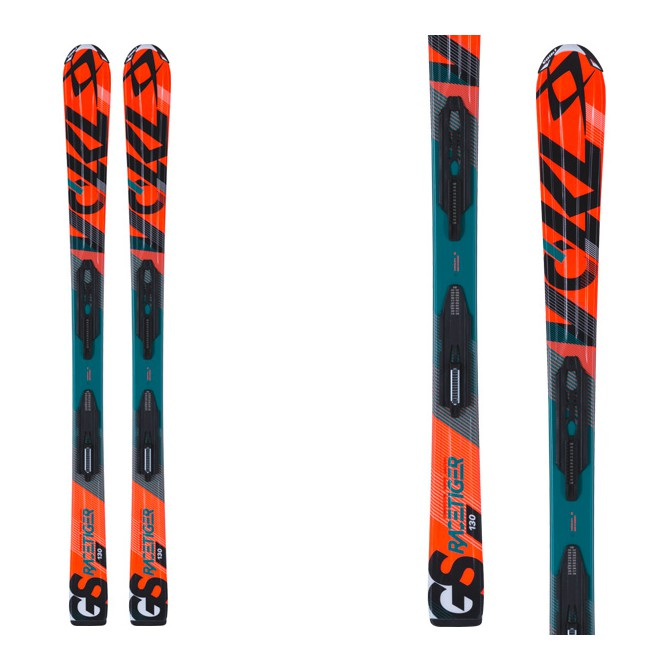 sci Volkl Jr Racetiger 3motion + attacchi 3motion 4.5 Jr
