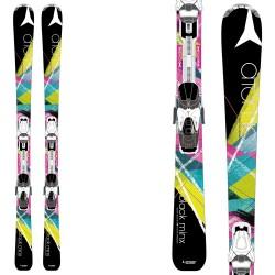 ski Atomic Black Minx + fixations Xte 10 Lady