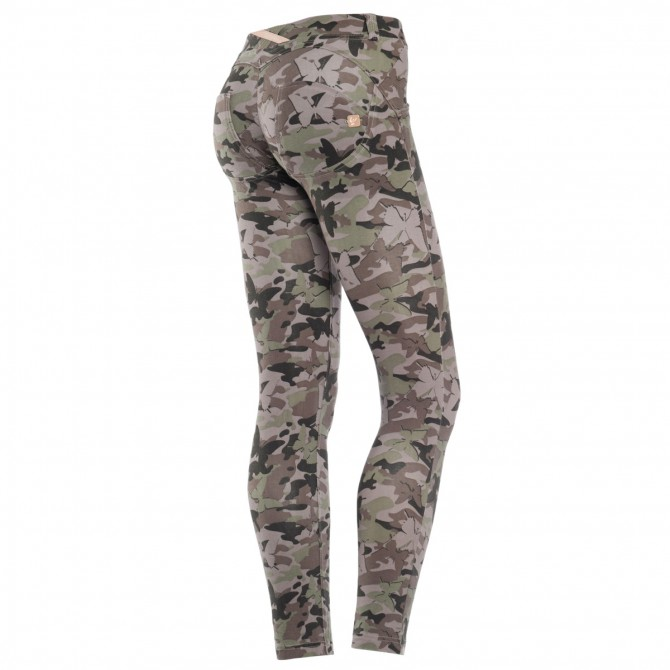 Pantalone Freddy Wr.Up 7/8 camouflage Donna
