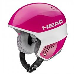casco esquì Head Stivot Race Youth Carbon rosa