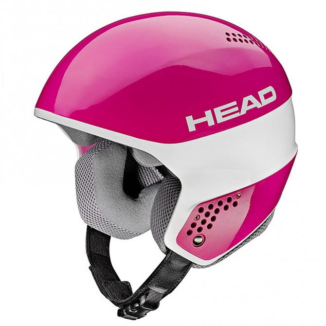 Casco sci Head Stivot Race Youth Carbon rosa