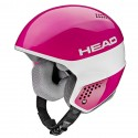 ski helmet Head Stivot Race Youth Carbon pink