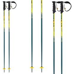 bastón esquí Volkl Speed verde-amarillo