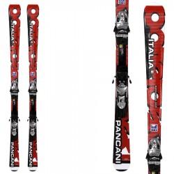 Ski Bottero Ski Pancani + bindings Power Plate 9 + SL 100