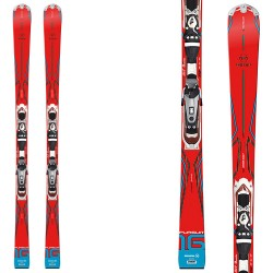 Ski Rossignol Pursuit 16 AR/BASALT + fixations Axium 110