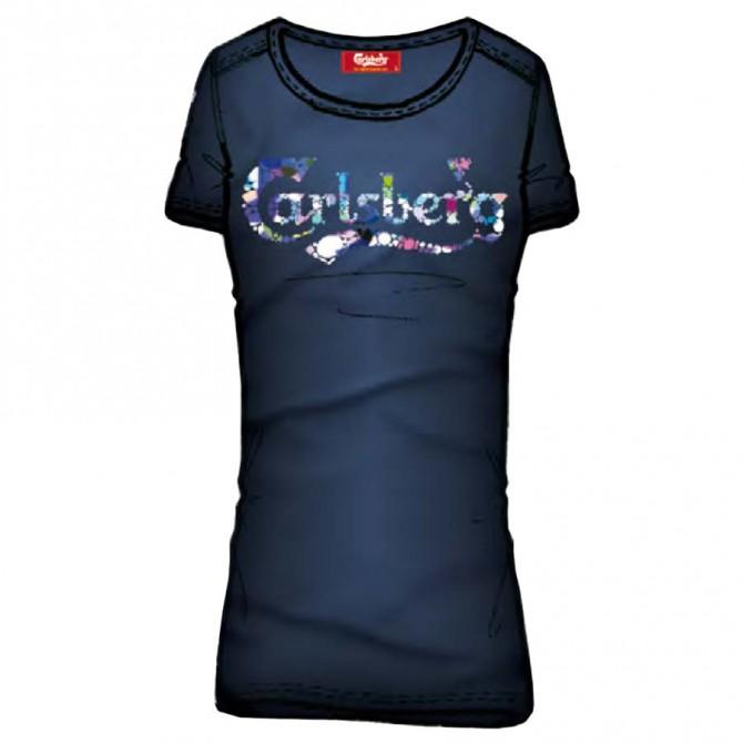 T-shirt Carlsberg CBD1139 Donna