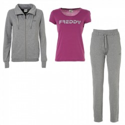 costume gymnastique Freddy + t-shirt femme
