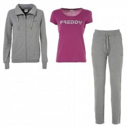 Traje gimnasia Freddy + t-shirt mujer