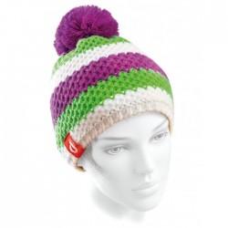 bonnet Ledrapo Tricolor fuchsia