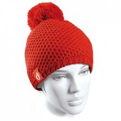 bonnet Ledrapo Unie Vierge rouge