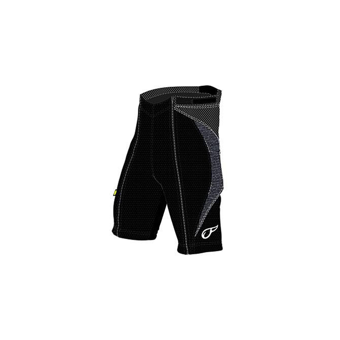 pantaloncino con protezioni Energiapura Workout nero
