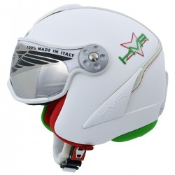 casco esqui Hammer H2 Italia + visera