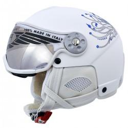 casque ski Hammer H2 Soft Fiore + visière