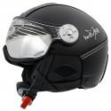 casque ski Hammer Soft Leather Finish + visière