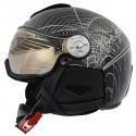 ski helmet Hammer H2 Soft Spyder + visor