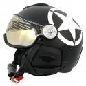 ski helmet Hammer H2 Soft Star + visor