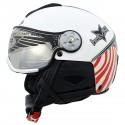 casque ski Hammer H2 Soft Usa + visière