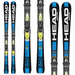 Ski Head iSupershape Titan + bindings Prx 12 S Br 85