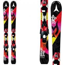Ski Atomic Redster Jr II Marcel Ets + fixations E Xte 0.45 de fantaisie noire