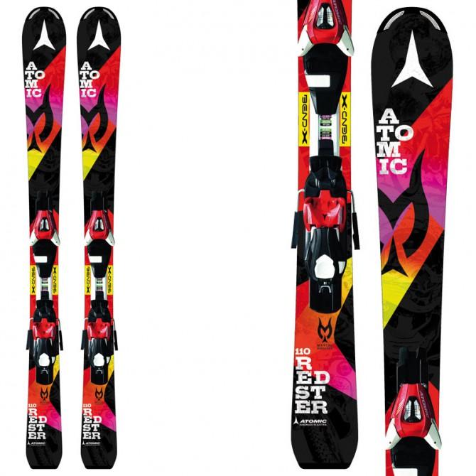 Esquí Atomic Redster Jr II Marcel Ets + fijaciones E Xte 0.45 negro fantasía