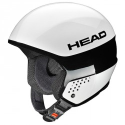 casco esquì Head Stivot Race Youth Carbon blanco